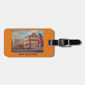 St西王および中央市場の荷物の財布は付きます ラゲッジタグ