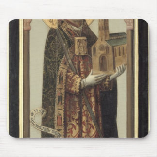 St.アンスガル1457年を描写する奉納のパネル マウスパッド