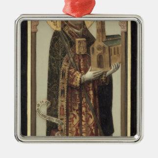 St.アンスガル1457年を描写する奉納のパネル メタルオーナメント