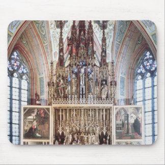 St.ウォルフガングの祭壇の背後の飾り1471-81年 マウスパッド