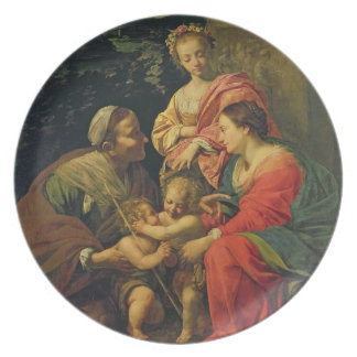 St.エリザベス、Infanを持つヴァージンそして子供 プレート
