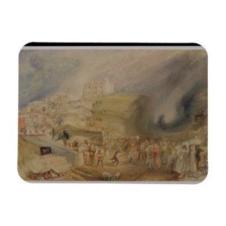 St.キャサリンの丘、Guildford、サリー州1830年(w/c マグネット