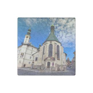 St.キャサリン、Banska Stiavnica、スロバキアの教会 ストーンマグネット