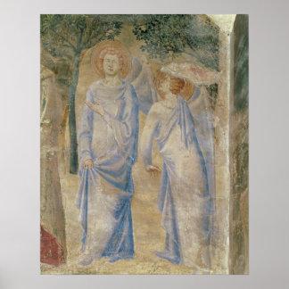 St.ジーン1347年のチャペルからの天使 ポスター