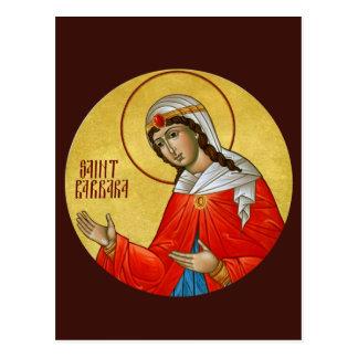 St.バーバラの祈りの言葉カード ポストカード