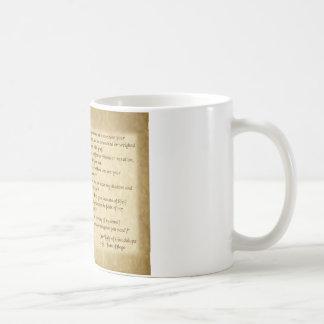 St.ファンディエゴへのグアダルペの私達の女性の単語 コーヒーマグカップ
