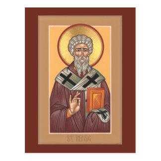 St.ブレーズの祈りの言葉カード ポストカード