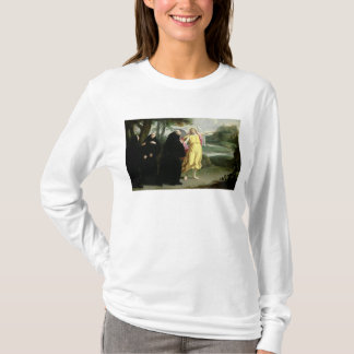 St.ベネディクトの生命からの場面 Tシャツ