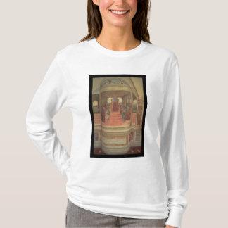 St.ベネディクト(フレスコ画)の生命(詳細) Tシャツ