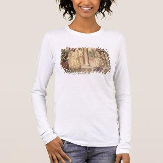 St.ベネディクト(フレスコ画) (詳細)の生命2 長袖Tシャツ