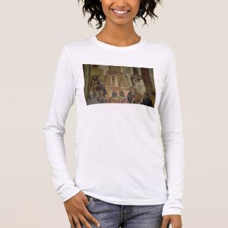 St.ベネディクト(frescの生命からの合唱場面、 長袖Tシャツ