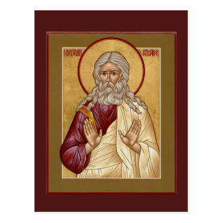 St.ベンジャーミン家長の祈りの言葉カード ポストカード