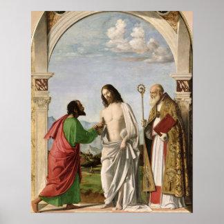 St.マグナスを持つトマスを疑うこと、c.1504-05 ポスター