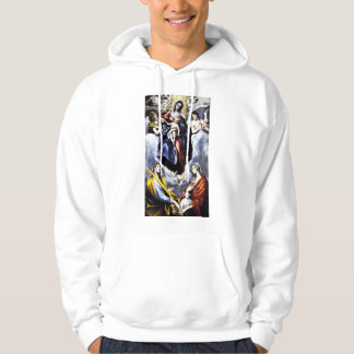 St.マルチナのフード付きスウェットシャツのヴァージンそして子供 パーカ