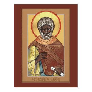 St.モーゼエチオピアの祈りの言葉カード ポストカード