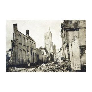 St.ヤコブ教会、Ypres、1915年6月 キャンバスプリント