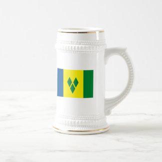 St.ヴィンチェンツォの旗のマグ ビールジョッキ