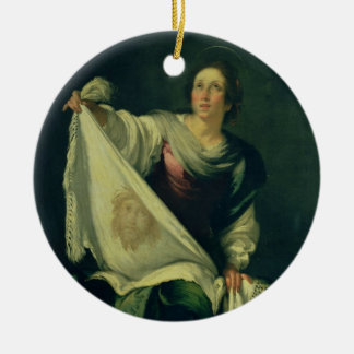 St.ヴェロニカ1625-30年(キャンバスの油) セラミックオーナメント