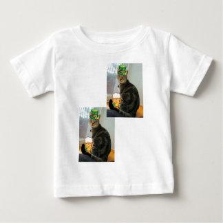 St.水田の日のインディゴ ベビーTシャツ