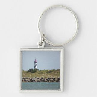 St. 8月の灯台KeychainのVilanoの眺め キーホルダー