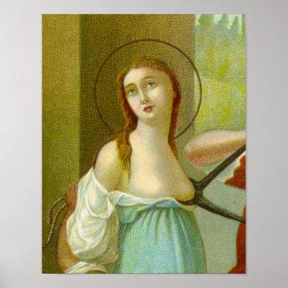 St. Agatha (M 003) ポスター