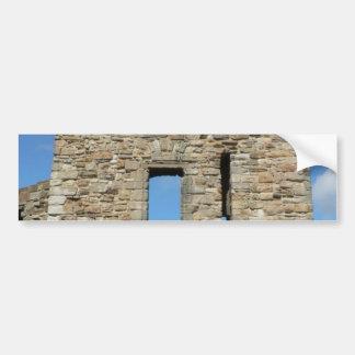 St Andrewの古い城 バンパーステッカー
