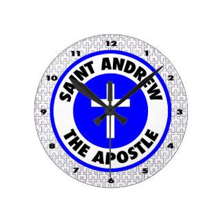 St Andrew使徒 ラウンド壁時計