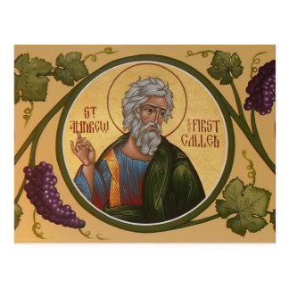 St Andrew最初の呼ばれた祈りの言葉カード ポストカード