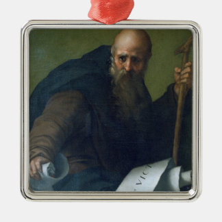 St Anthonyの大修道院長(c.251-356) c.1518-19 (カリフォルニアの油 メタルオーナメント