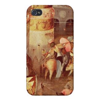 St Anthonyの誘惑のトリプティク iPhone 4 ケース