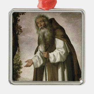 St Anthonyは、1640年がっかりしました(キャンバスの油) メタルオーナメント