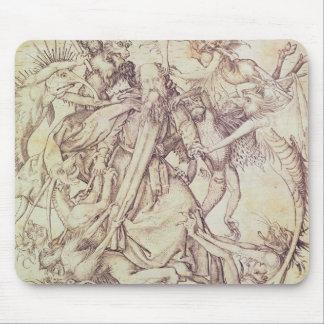 St Anthony (版木、銅版、版画)の誘惑 マウスパッド
