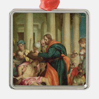 St. Barnabas、c.1566の奇跡 メタルオーナメント