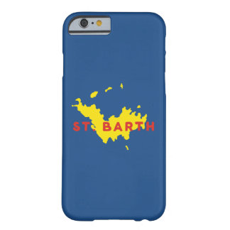 St. Barthのシルエット Barely There iPhone 6 ケース