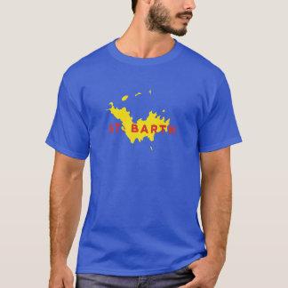 St. Barthのシルエット Tシャツ