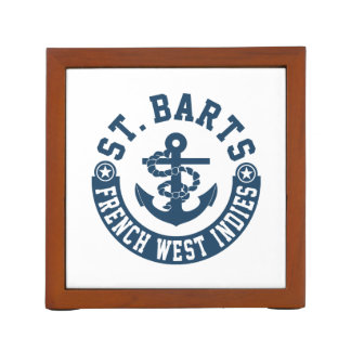 St Bartsのフランス語西インド諸島 ペンスタンド