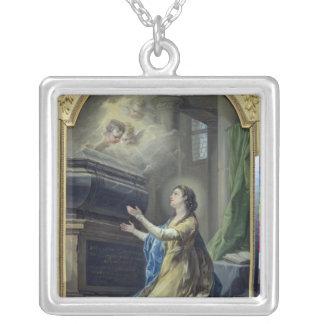St. Clotilda シルバープレートネックレス