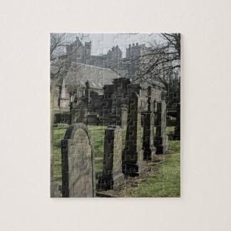 St Cuthbertの墓地の教区の教会 ジグソーパズル