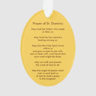 St Dominic de Guzman (PM 02)のアクリル オーナメント