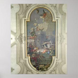 St Dominic (fres著数珠の施設 ポスター