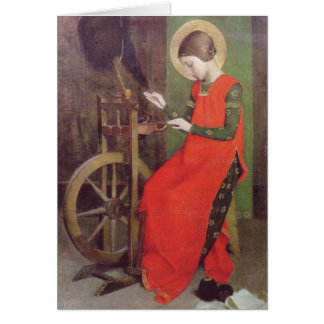 St Elizabeth of Hungary by Marianne Stokes カード