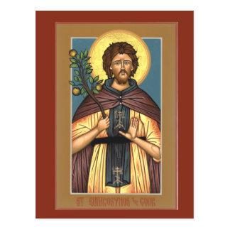 St. Euphrosynos調理師の祈りの言葉カード ポストカード