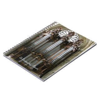 St Eustache器官のノート ノートブック