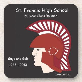 St. Francisのロゴの同窓会 コースター
