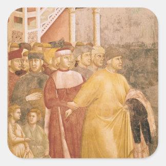 St Francisはすべての財産を放棄します スクエアシール