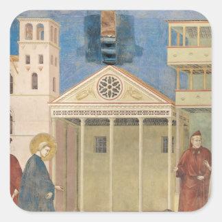St Francisはシンプルな人1297-99年によって名誉を与えました スクエアシール