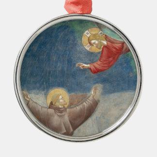 St Francisイエス・キリストのkeychainのマグのiPodのipadカバーペット メタルオーナメント