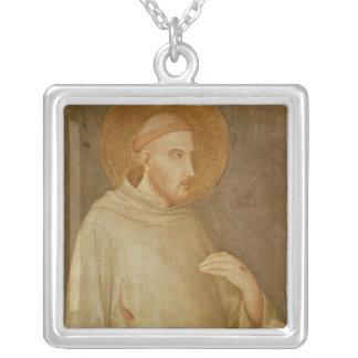 St Francis シルバープレートネックレス