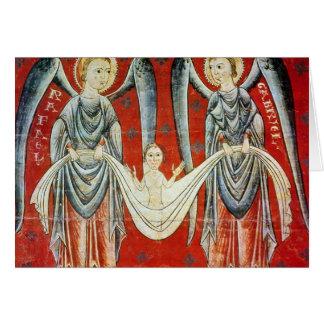 St GabrielおよびSt. Raphael、c.1200 カード