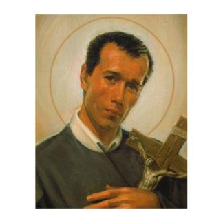 St. Gerard Majella ウッドウォールアート